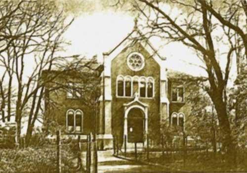 Karmelita nővérek kápolnája - Ma Szt. Lőrinc Katolikus Általános Iskola