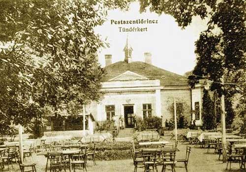 Tündérkert Vendéglő (névadó) - Ma a Dohnányi Ernő Zeneiskolának ad otthont