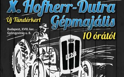 X. Hofherr-Dutra gépmajális